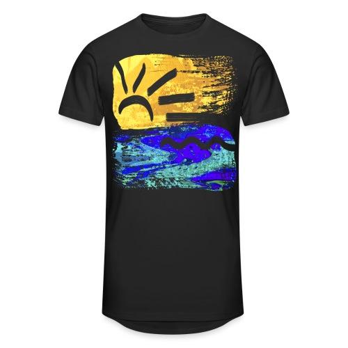 StrandEntlang - Männer Urban Longshirt