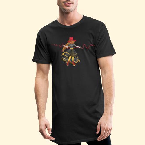 Ladybird - La célèbre uchronaute - T-shirt long Homme