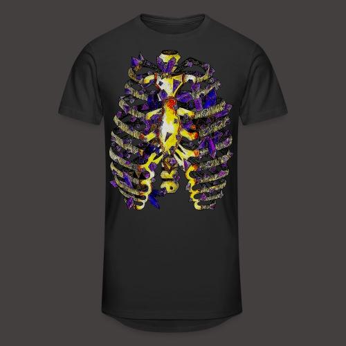 La Cage Thoracique de Cristal Creepy - T-shirt long Homme