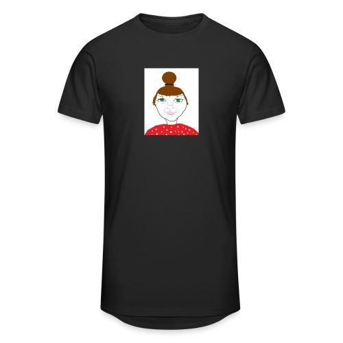 Bonny with a bun - Urban lång T-shirt herr