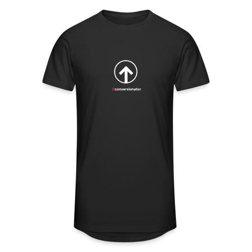 Conversionator mit Pfeil (weiß) - Männer Urban Longshirt