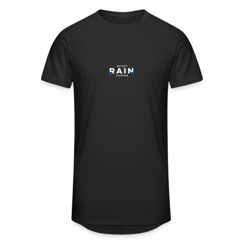 Rain Clothing - Long Sleeve Top - DONT ORDER WHITE - Men's Long Body Urban Tee