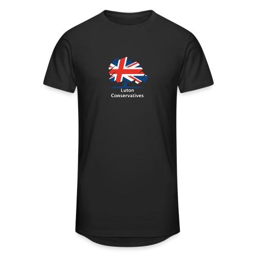 Luton Conservatives - Men's Long Body Urban Tee