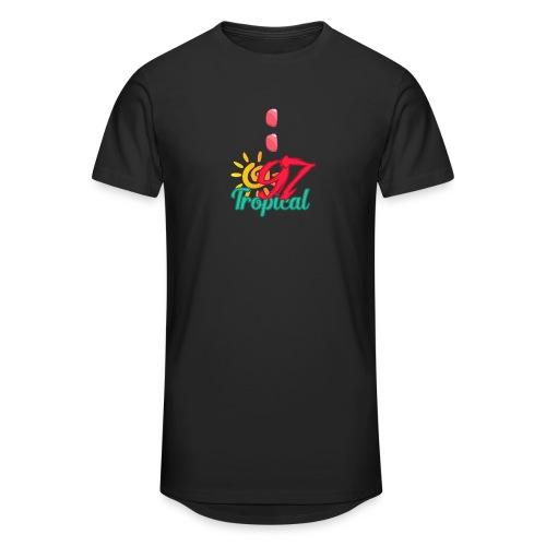 A01 4 - T-shirt long Homme