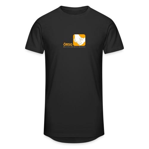Logo der ÖRSG - Rett Syndrom Österreich - Männer Urban Longshirt