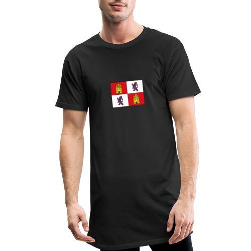 ESCUDO CASTILLA Y LEON - Camiseta urbana para hombre