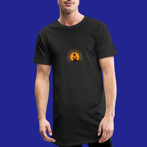 Guramylyfe logo no text black - Men's Long Body Urban Tee