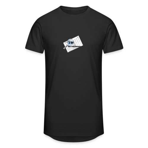 The scrutineer logo - Men's Long Body Urban Tee