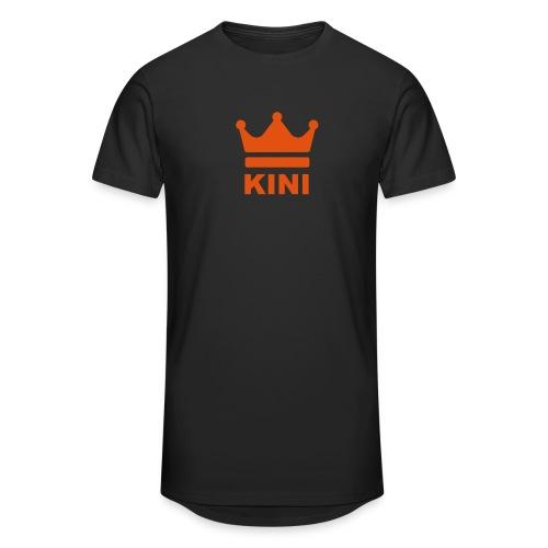 KINI ist König - Männer Urban Longshirt