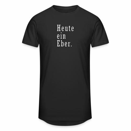 heute ein eber - Männer Urban Longshirt