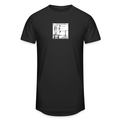 W.O.T War tactic, tank shot - Men's Long Body Urban Tee