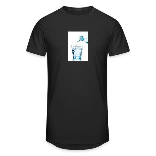 Glas-water-jpg - Mannen Urban longshirt