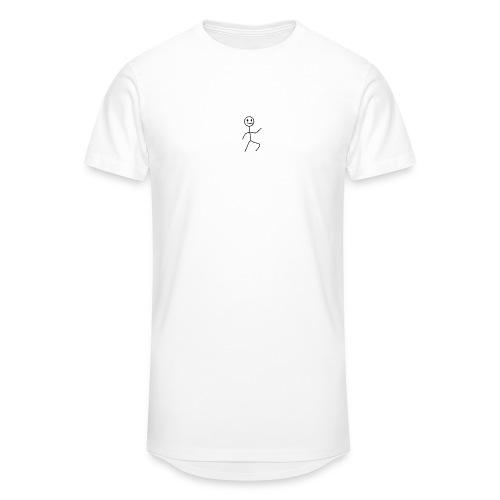 stick man t-shirt dance 1,0 - Herre Urban Longshirt