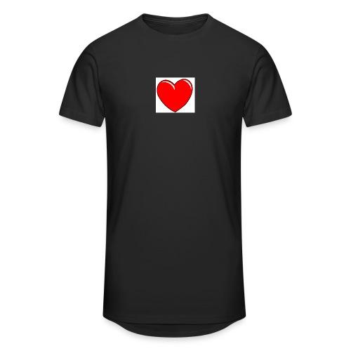 Love shirts - Mannen Urban longshirt