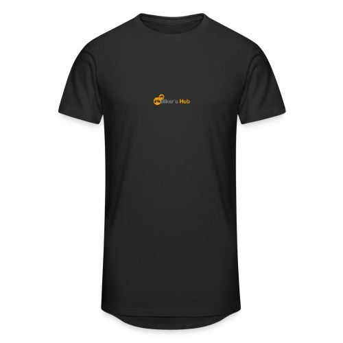 Biker's Hub Small Logo - Men's Long Body Urban Tee