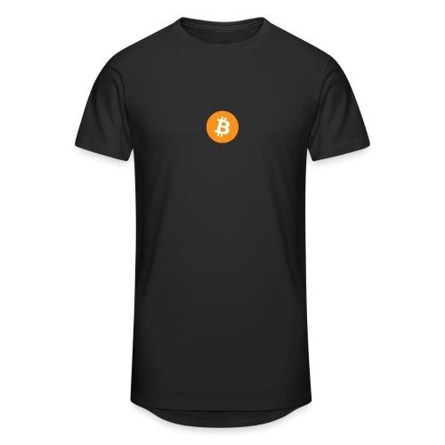 Bitcoin - Men's Long Body Urban Tee