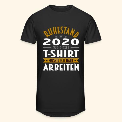 Ruhestand 2020 - Männer Urban Longshirt