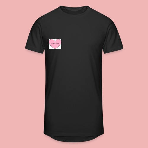 love me or i kill you png - Männer Urban Longshirt