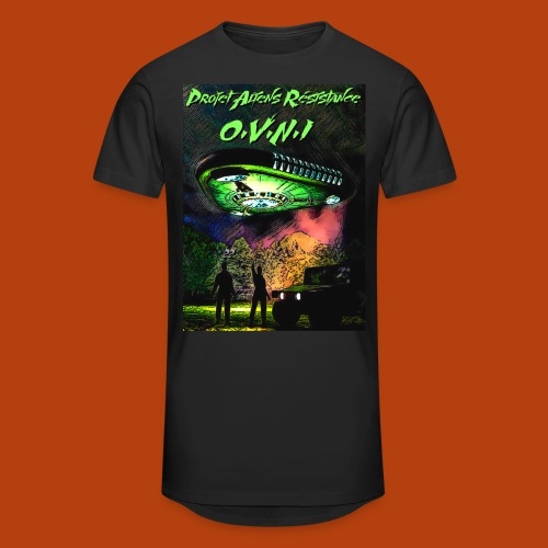 T Shirt ovni green 01 - T-shirt long Homme