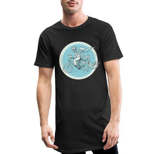 To the Beach - Backround - Männer Urban Longshirt