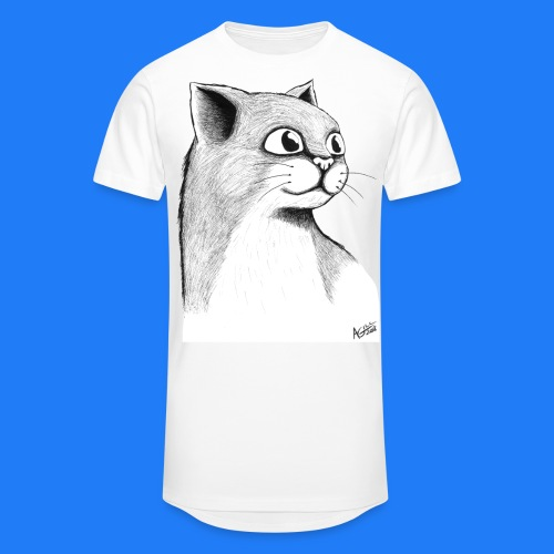 CAT HEAD by AGILL - T-shirt long Homme