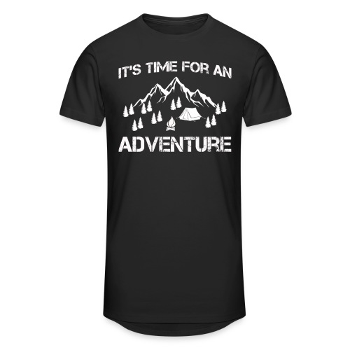 It's time for an adventure - Men's Long Body Urban Tee