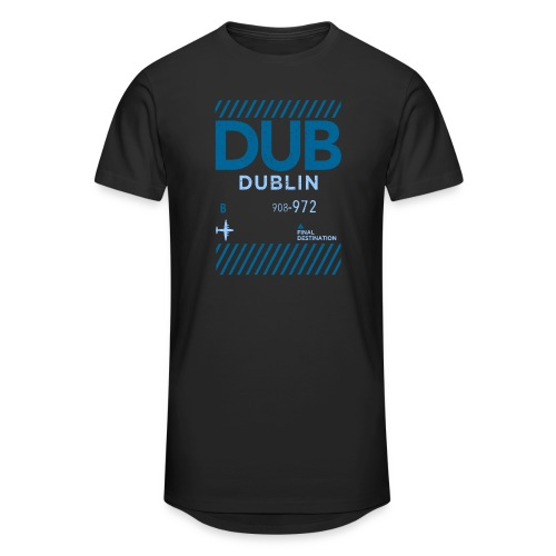 Dublin Ireland Travel - Men's Long Body Urban Tee
