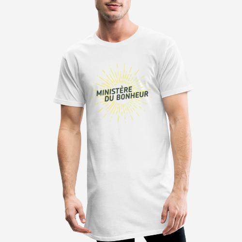 Ministère du Bonheur - T-shirt long Homme