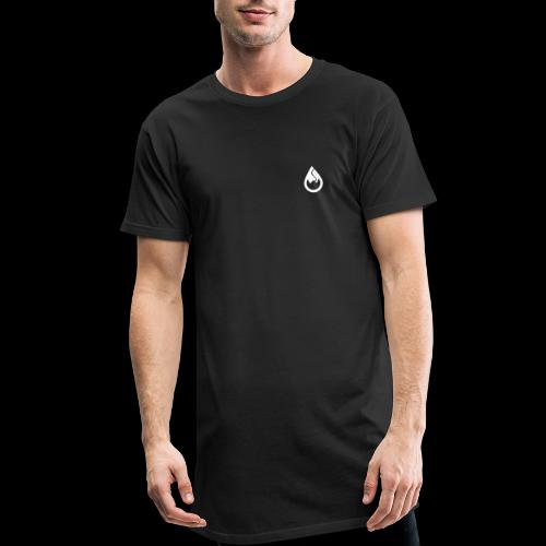 WS-Crew Tropfen-Logo weiß - Männer Urban Longshirt