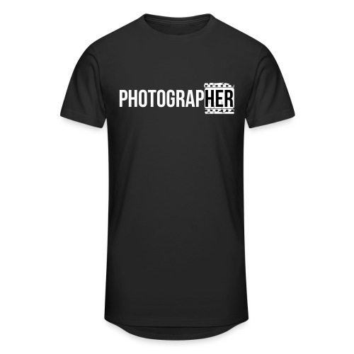 Photographing-her - Men's Long Body Urban Tee