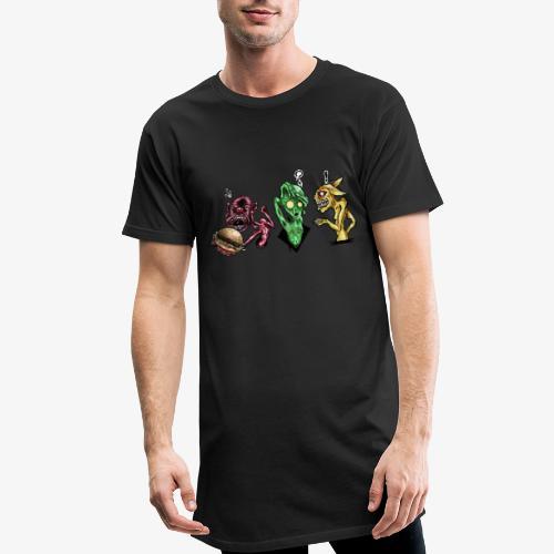 Weird communication - T-shirt long Homme