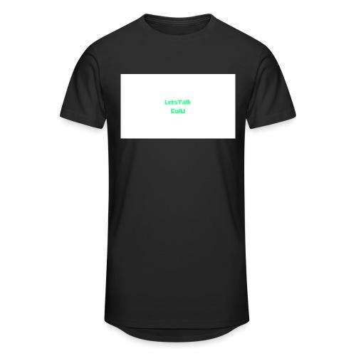 LetsTalk ColU - Men's Long Body Urban Tee