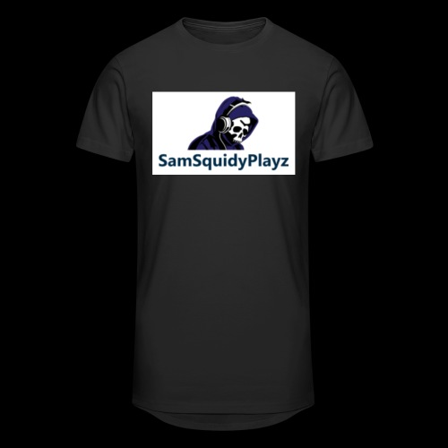 SamSquidyplayz skeleton - Men's Long Body Urban Tee