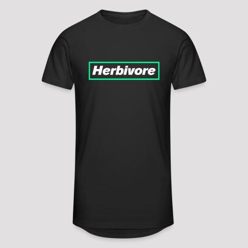 Herbivore Logo White - Maglietta  Urban da uomo