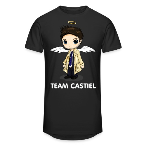 Team Castiel (dark) - Men's Long Body Urban Tee