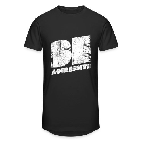 'BE AGGRESSIVE' Fitness, Workout, Gym - Männer Urban Longshirt