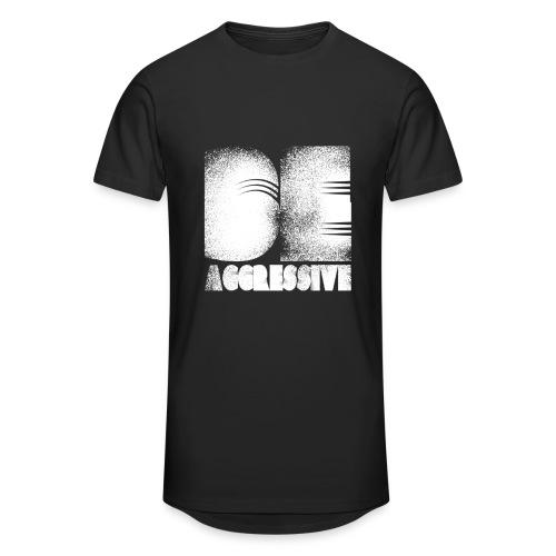 'BE AGGRESSIVE' Fitness, Workout, Gym - Männer Urban Longshirt