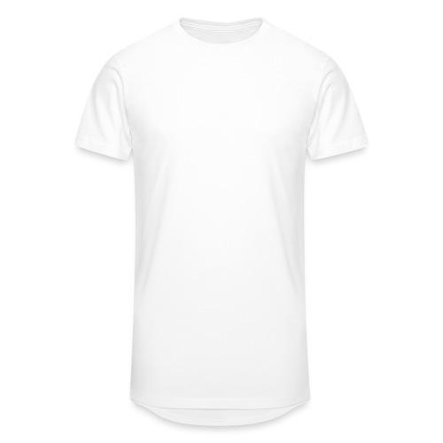 Logo white - Men's Long Body Urban Tee