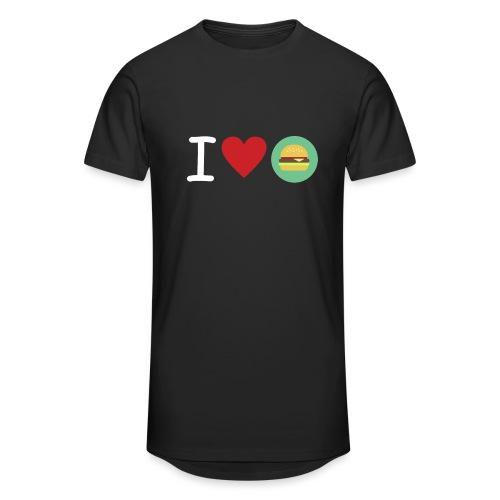 Amor de hamburguesa - Camiseta urbana para hombre