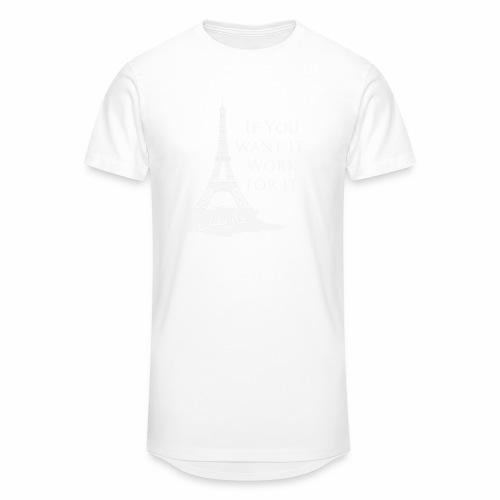 Paris dream work - T-shirt long Homme