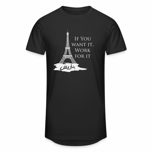 Paris dream work - T-shirt long Homme