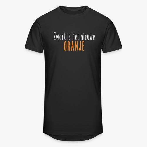 Zwart is het nieuwe oranje - Mannen Urban longshirt