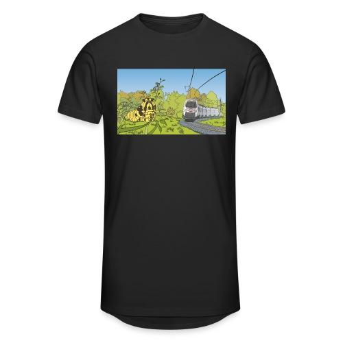 Raupe und Zug - Männer Urban Longshirt