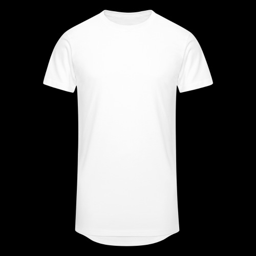 Skull Longboard Rider - negative print - T-shirt long Homme