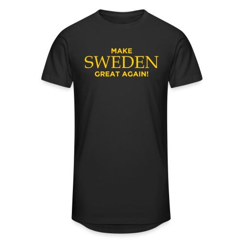 Make Sweden Great Again! - Urban lång T-shirt herr