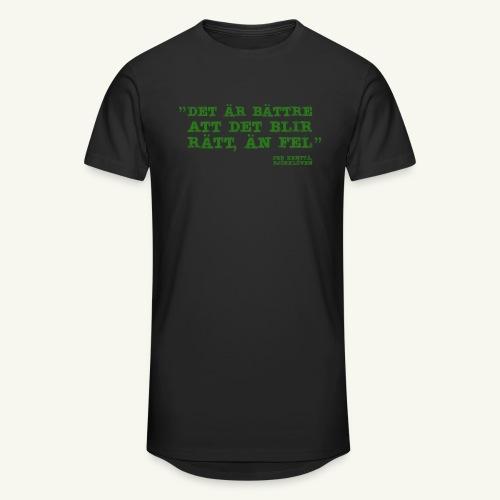KENTA CITAT - Urban lång T-shirt herr