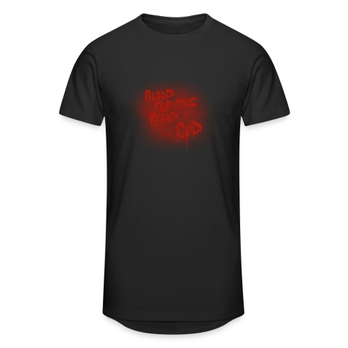 Blood For The Blood God - Men's Long Body Urban Tee