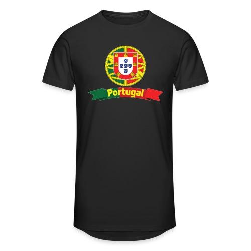 Portugal Campeão Europeu Camisolas de Futebol - Men's Long Body Urban Tee
