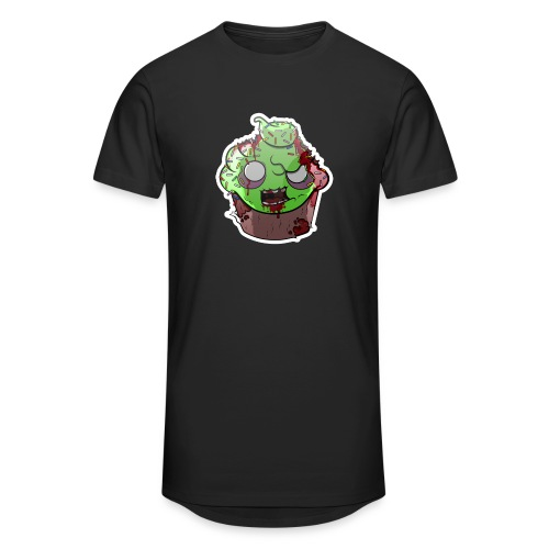 Cupake zombie couleur - T-shirt long Homme