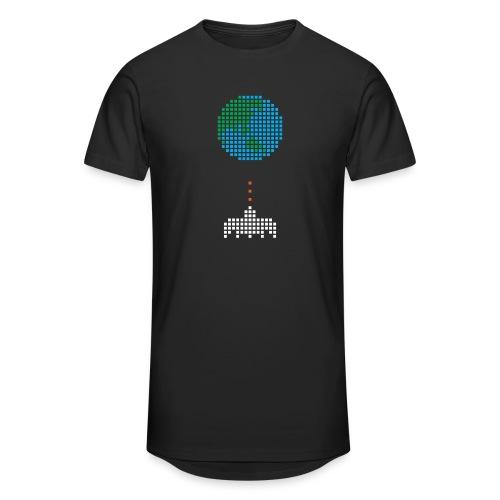 Earth Invaders - Männer Urban Longshirt